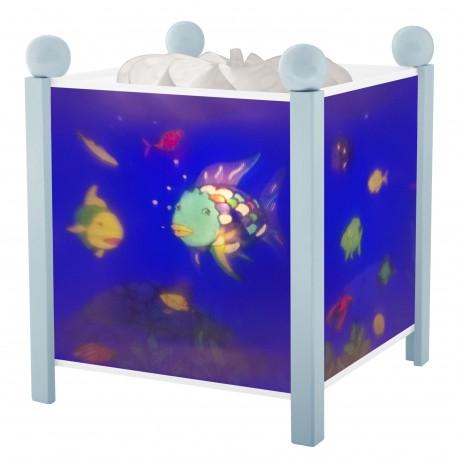Veilleuse - Lanterne Magique Poisson Arc En ciel© - Bleu 12V