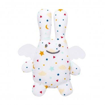 Angel Bunny w/Rattle Stars 12Cm