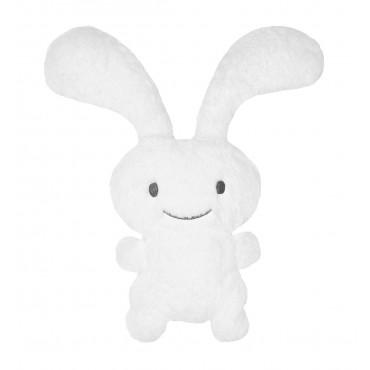 "Funny Bunny ""Ice"" Peluche Blanche 55Cm"