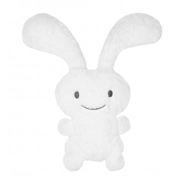 "Funny Bunny ""Ice"" Peluche Blanche 55Cm"
