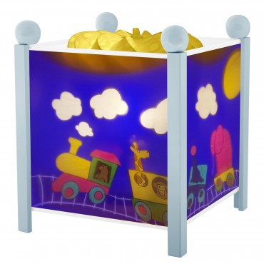 Night Light - Magic Lantern Train - Blue 12V