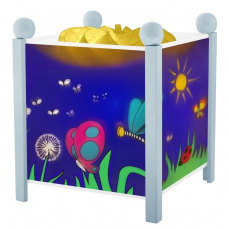 Lanterne Magique Papillons - Bleu