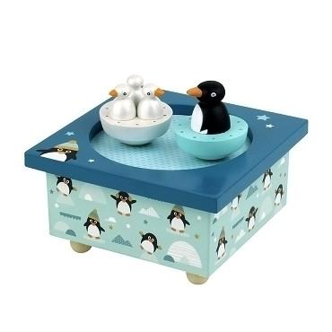 Boite à Musique Dancing Pingouins