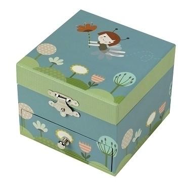 Coffret Musique Cube Ninon Fée - Figurine Ballerine