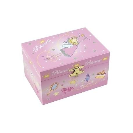 Music Box Princess - Pink - Figurine Princess