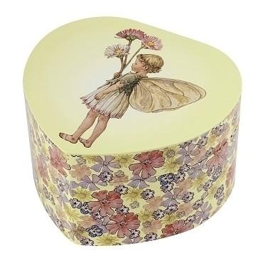 Grand Cœur Musical Fée Paquerettes - Flower Fairies© - Figurine Fée