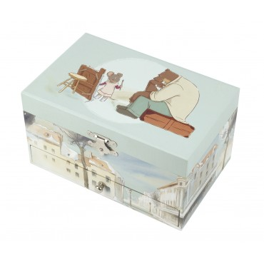 Musical Jewelry Box Ernest & Celestine©