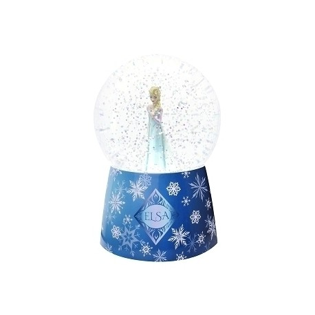 Nightlight musical snow globe Elsa - La Reine des Neiges