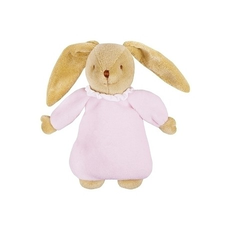 Musical Bunny Fluffy Pink 25Cm
