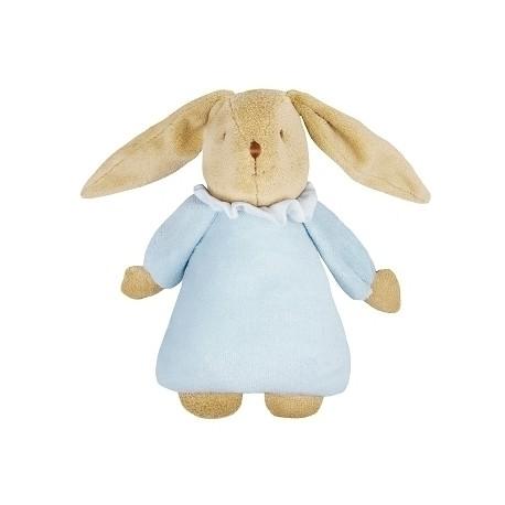 Musical Bunny Fluffy Sky Blue 25Cm