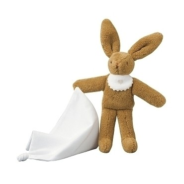 Bunny with Hanky 20Cm