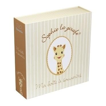 Boite à Souvenirs Musicale & Phosporescente Sophie la Girafe