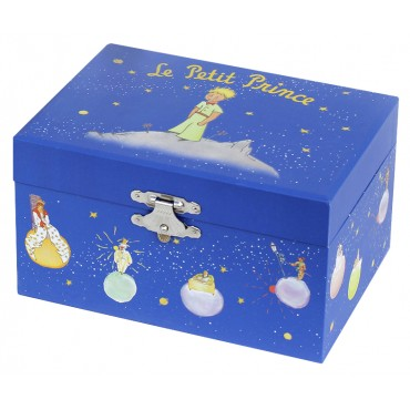 Photoluminescent Music Box Little Prince© Stars - Milky Way - Glow in dark