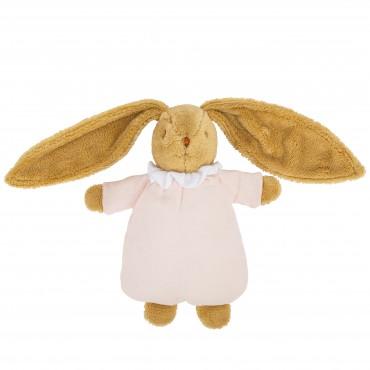 Soft Bunny Fluffy 20Cm - Pouder Pink Organic Cotton