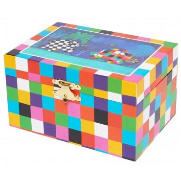 Music Box Elmer© - Figurine Elmer