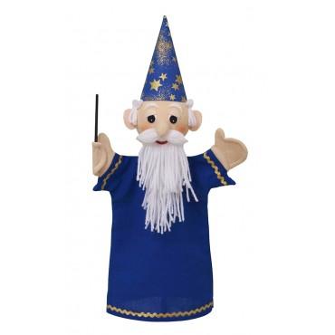 Marionnette Magicien 36 Cm - Fabriqué en Europe