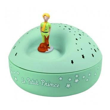Veilleuse - Projecteur d'Etoiles Musical le Petit Prince© - piles incluses