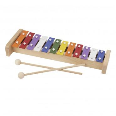 Xylophone 12 Notes - Lamelles en Métal - Son top Qualité - Fabriqué en Europe