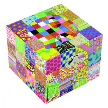 "Coffret Musique Cube Elmer© ""Classic"" - Figurine Elmer"