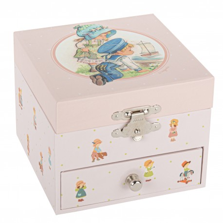 Musical Cube Box Boat - Children Memories - Jeanne Lagarde©