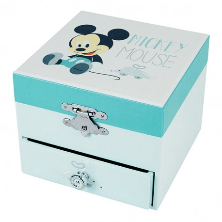 Coffret Musique Cube Mickey Baby