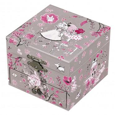 Coffret Musique Cube Alice - Figurine Ballerine