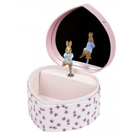 Boite à Musique Cœur Peter Rabbit©