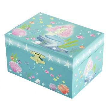 Music Box Mermaid - Figurine Mermaid