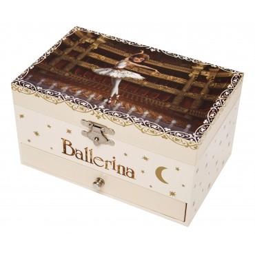 Boite à Bijoux Musicale Phosphorescente Ballerina©