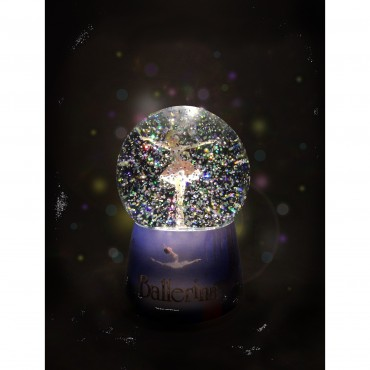Nightlight musical snow globe Ballerina©