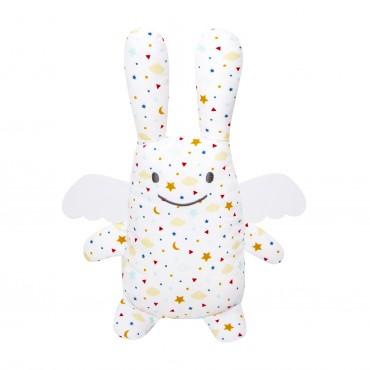 Musical Angel Bunny Stars 24Cm