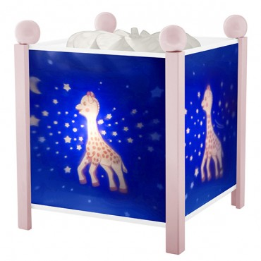 Night Light - Magic Lantern Sophie the giraffe© Milky Way - Pink 12V