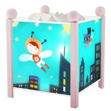 Night Light - Magic Lantern Ninon Heroe - Pink 12V