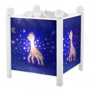 Night Light - Magic Lantern Sophie the giraffe© Milky Way - White 12V