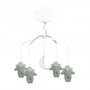Musical Mobile Angels - Linen