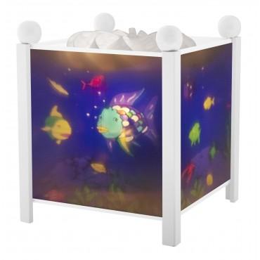 Night Light - Magic Lantern Rainbow Fish© - White 12V