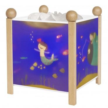 Night Light - Magic Lantern Ninon - Clear 12V