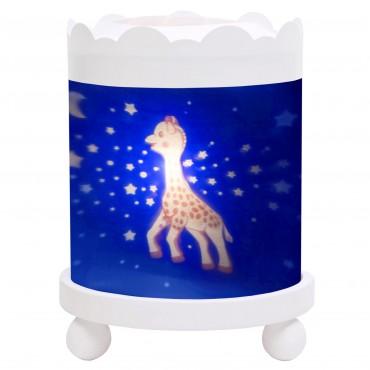 Night Light - Magic Merry Go Round Sophie the giraffe© Mikly Way - White 12V