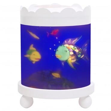 Night Light - Magic Merry Go Round Rainbow Fish© - White 12V