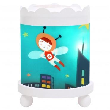 Night Light - Magic Merry Go Round Ninon Heroe - White 12V