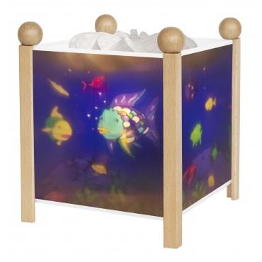 Night Light - Magic Lantern Rainbow Fish© - Clear 12V