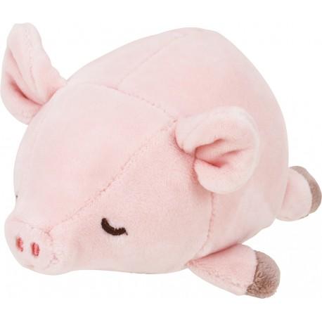 Peluche nemu nemu - PINKIE - Cochon - Taille S - 11 cm
