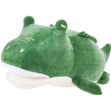 Peluche nemu nemu - PACK - Crocodile - Taille L - 53 cm