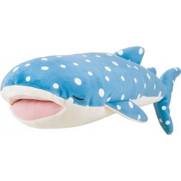 Peluche nemu nemu - JINBE - Requin Baleine - Taille L - 52 cm