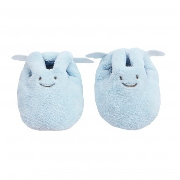 Chaussons Ange Lapin Ciel 0-2 ans