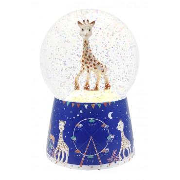 Nightlight musical snow globe Sophie la Girale©
