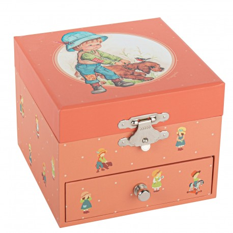 Musical Cube Box Pet - Children Memories - Jeanne Lagarde©