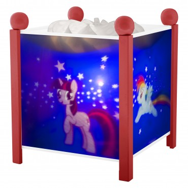 Lanterne Magique My Little Pony© - Rouge 12V