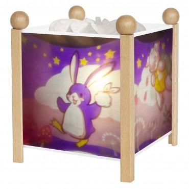 "Magic Lantern Lapingouin© ""Bunny Penguin"" - Clear 12V"