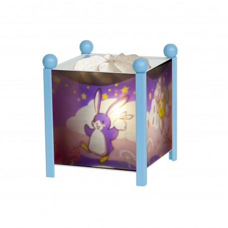 "Magic Lantern Lapingouin© ""Bunny Penguin"" - Blue 12V"